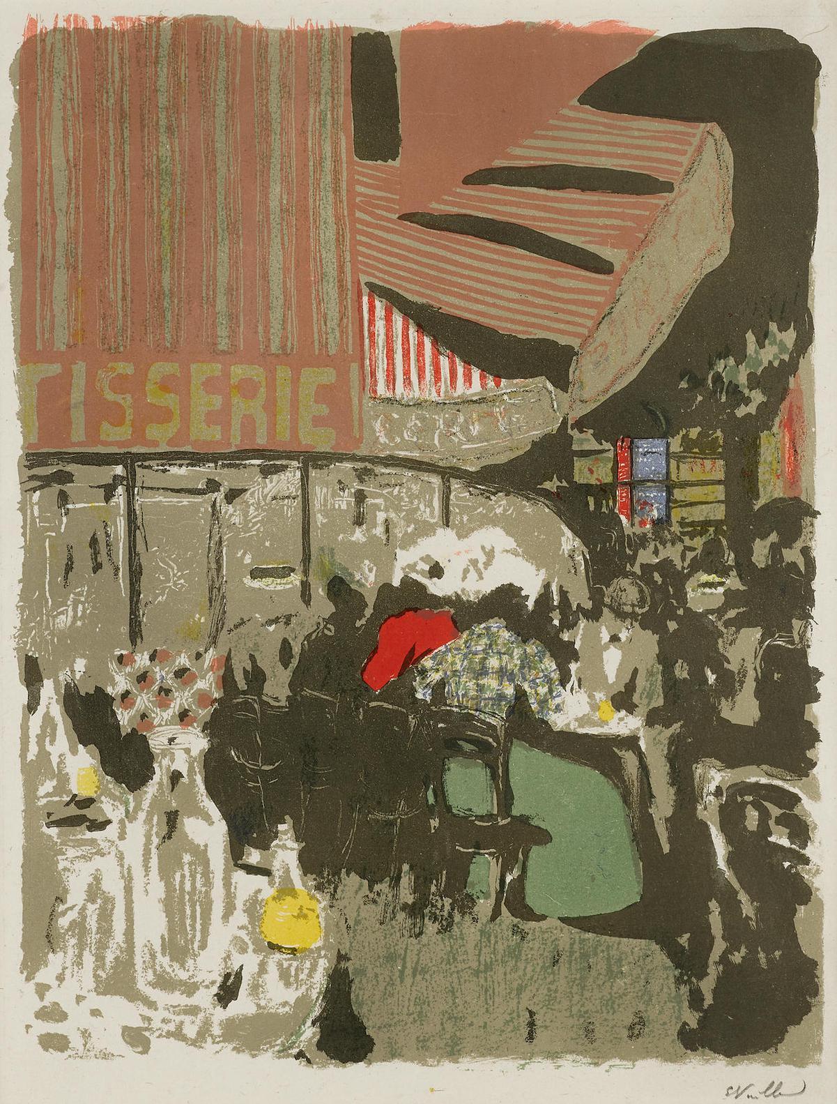 Edouard Vuillard-La Patisserie, From Paysages Et Interieurs (R.M. 41; Johnson 155)-1899