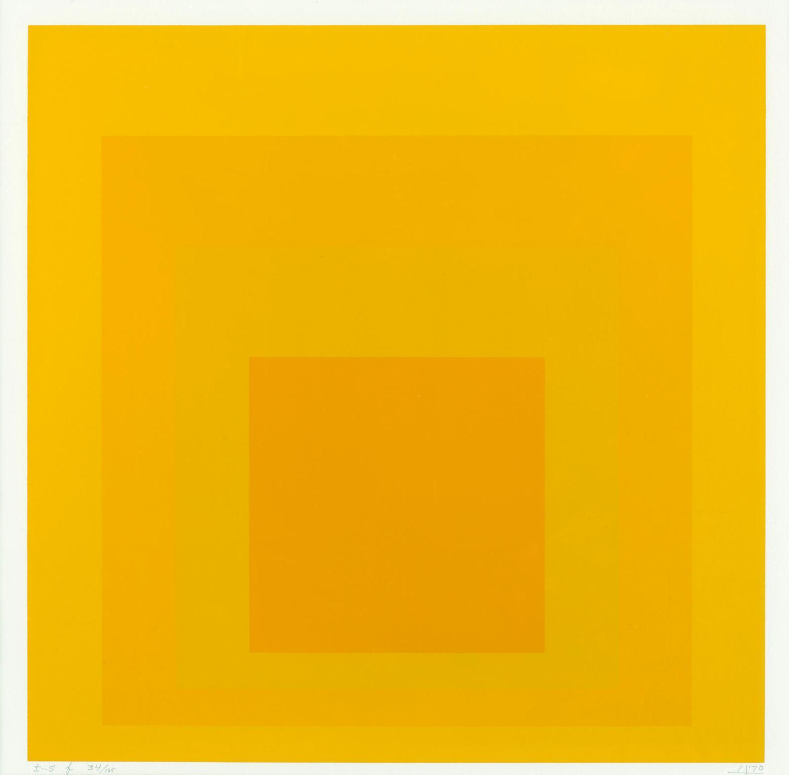 Josef Albers-I-S F (D. 195)-1970