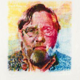 Chuck Close-John II-1990