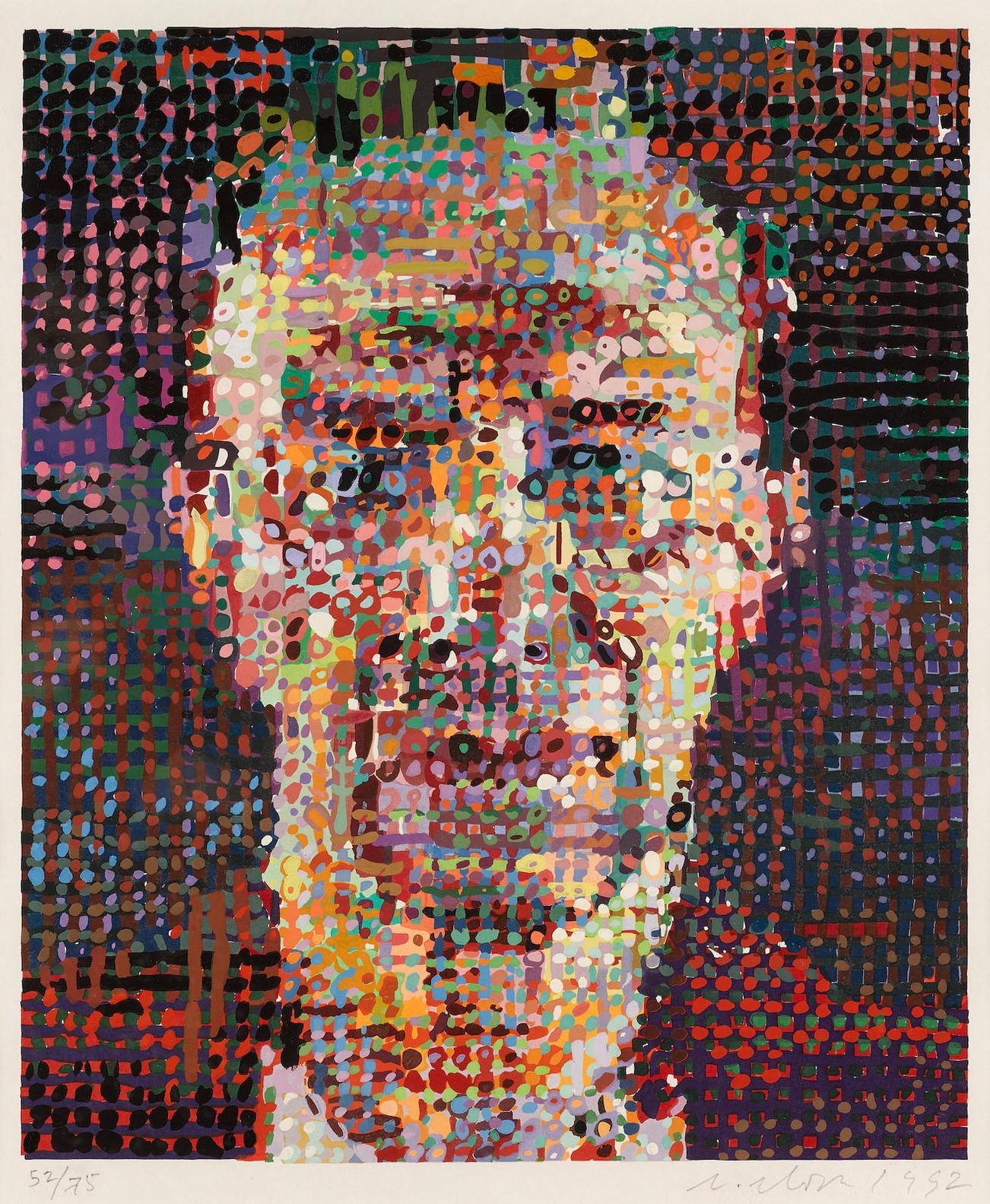 Chuck Close-Alex-1992
