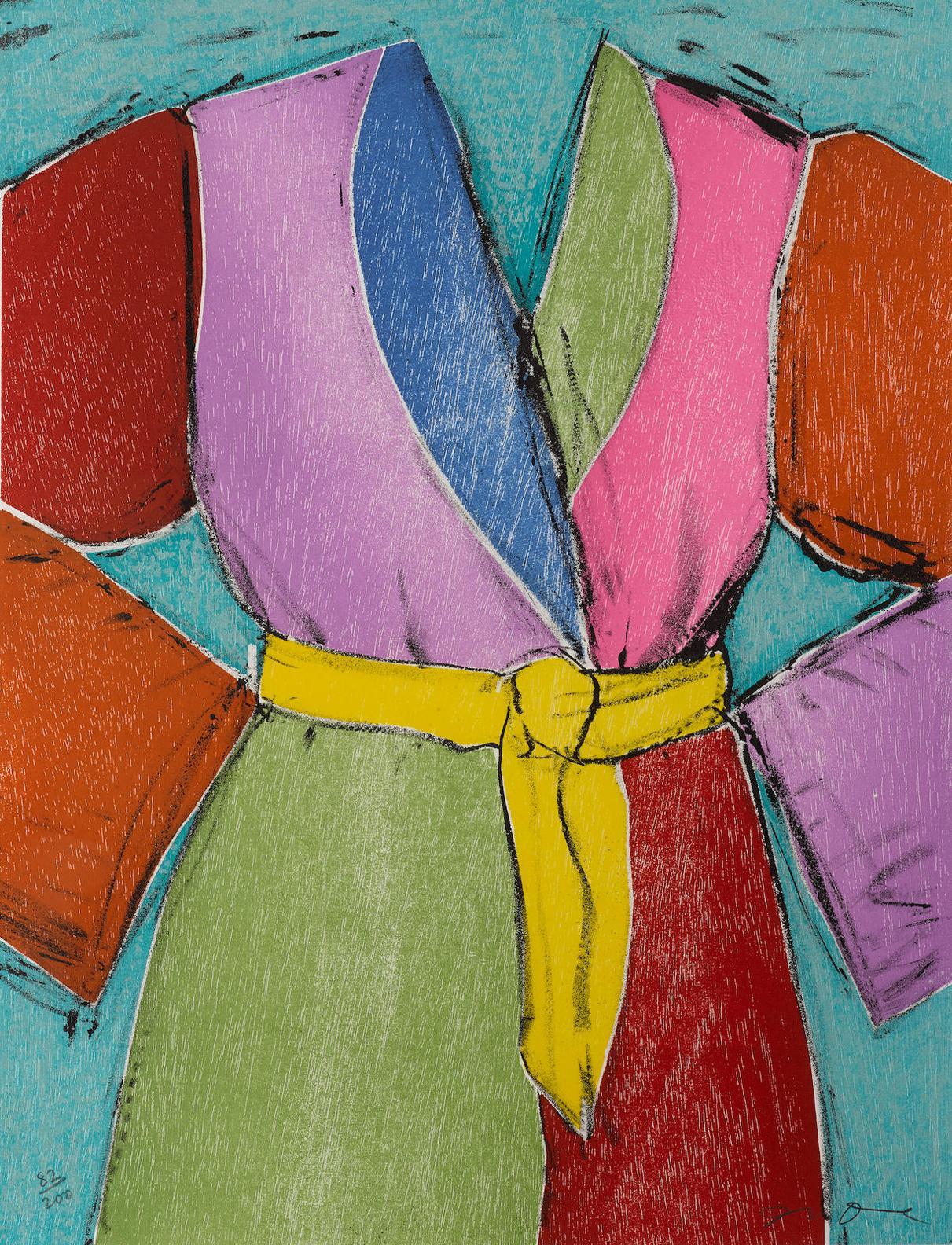 Jim Dine-The Yellow Belt-2005