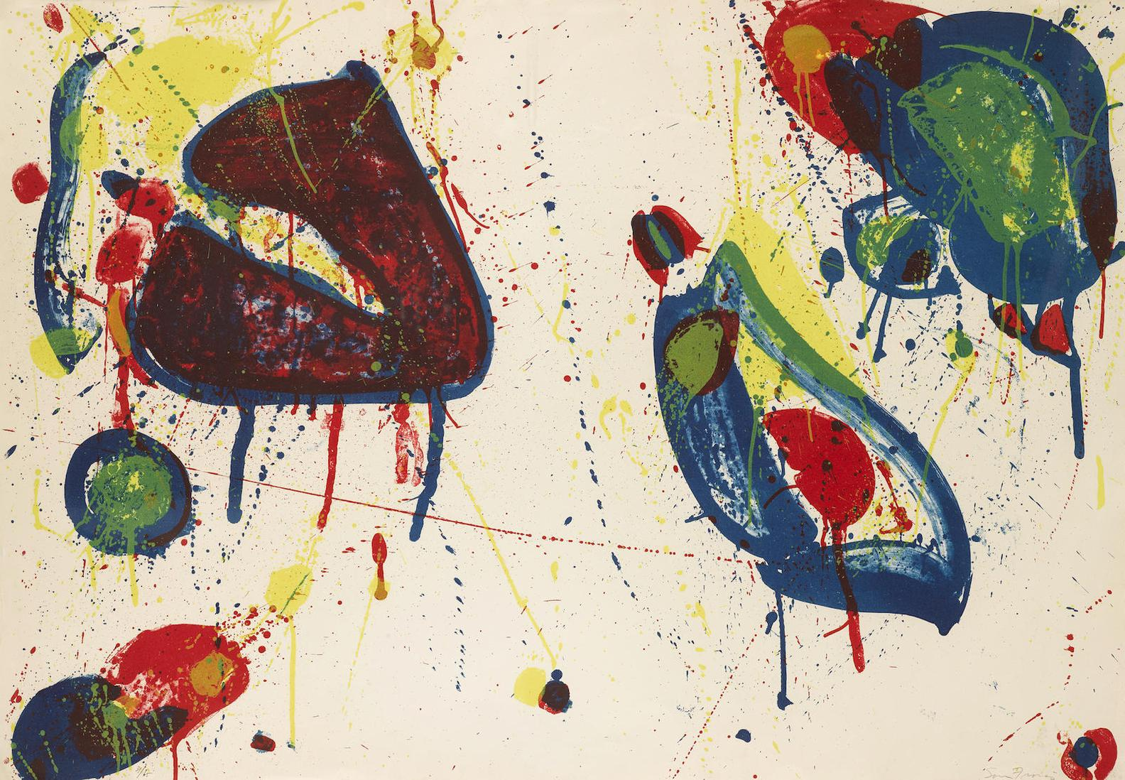 Sam Francis-Heart Stone (L. 31; Sf-30)-1963