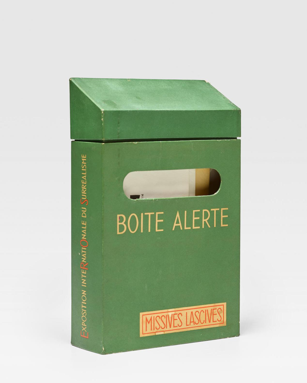 Marcel Duchamp-Boite Alerte, Missives Lascives: Exposition Internationale Du Surrealism (Eros) (See Schwartz 598-599)-1959
