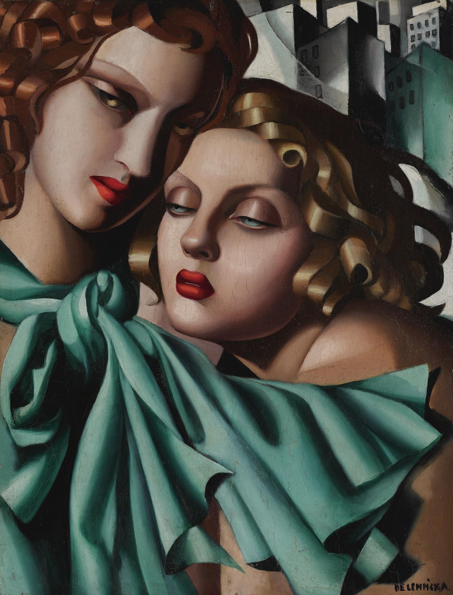 Tamara de Lempicka-Les Jeunes Filles-1930