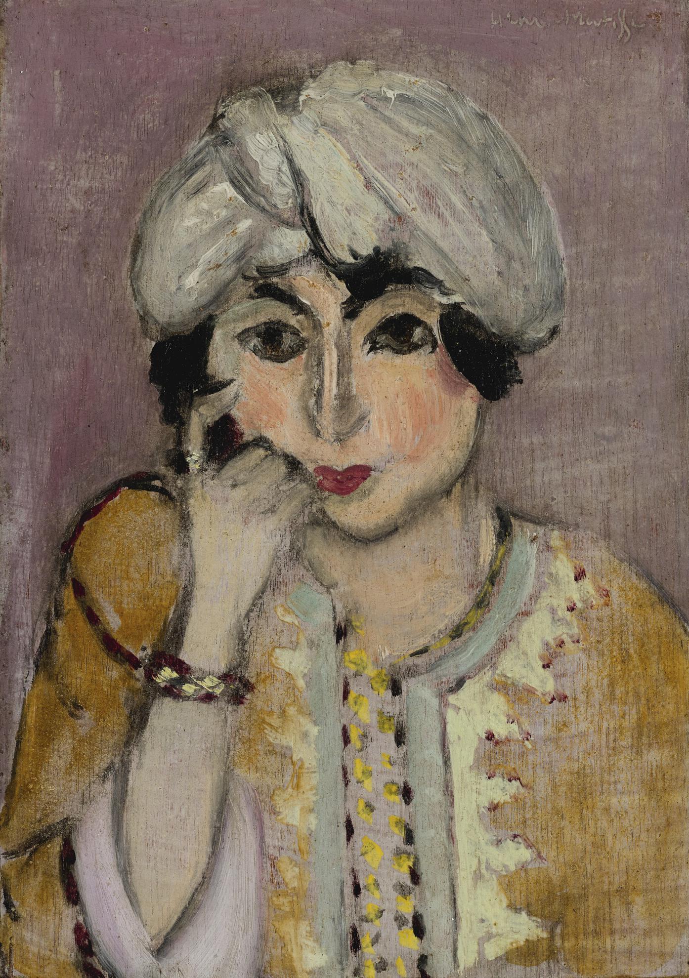 Henri Matisse-Tete De Femme (Lorette)-1916