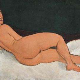 Amedeo Modigliani-Nu Couche (Sur Le Cote Gauche)-1917