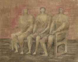 Henry Moore-Three Seated Women-1942