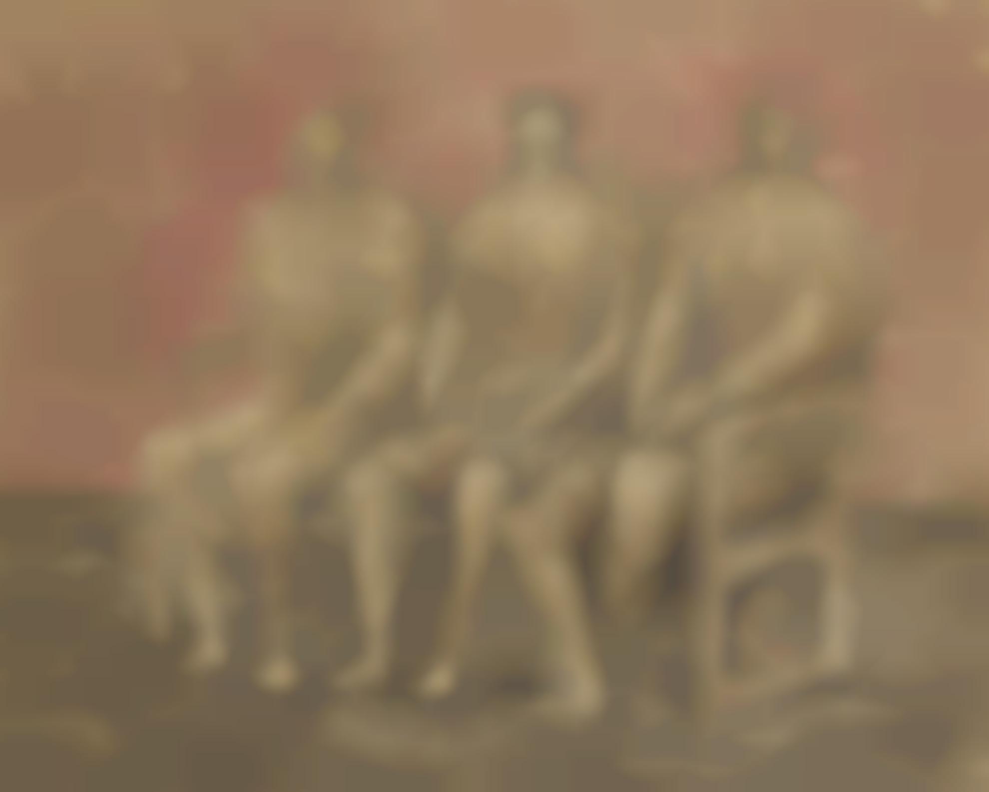 Henry Moore-Three Seated Women-1942