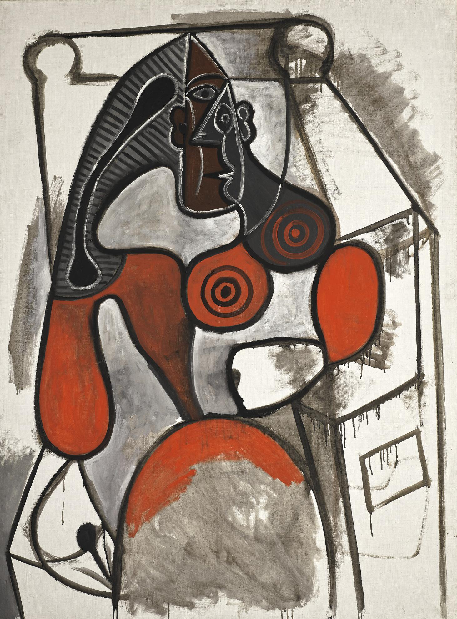 Pablo Picasso-Femme Assise-1949