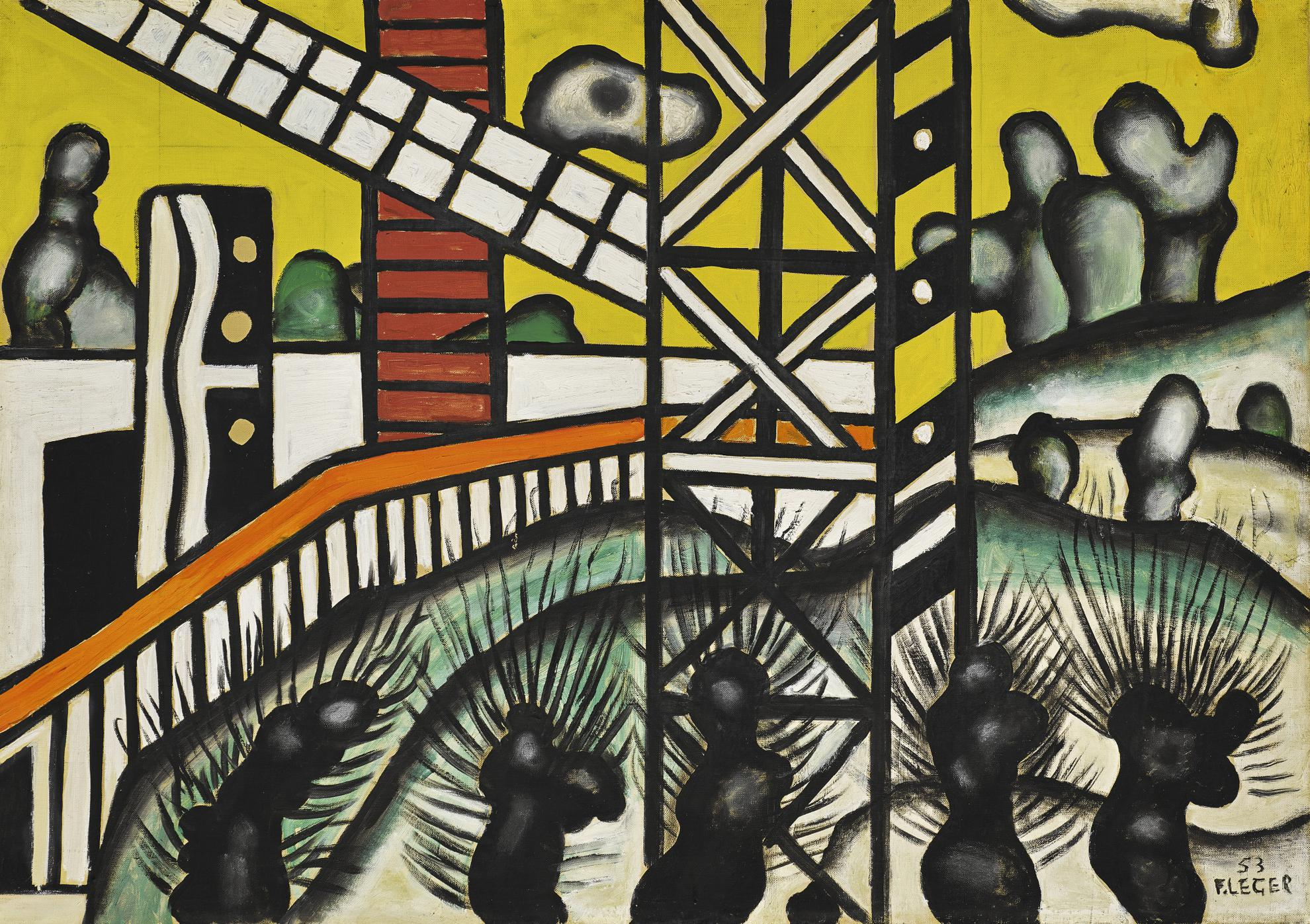 Fernand Leger-Paysage Dhiver-1953
