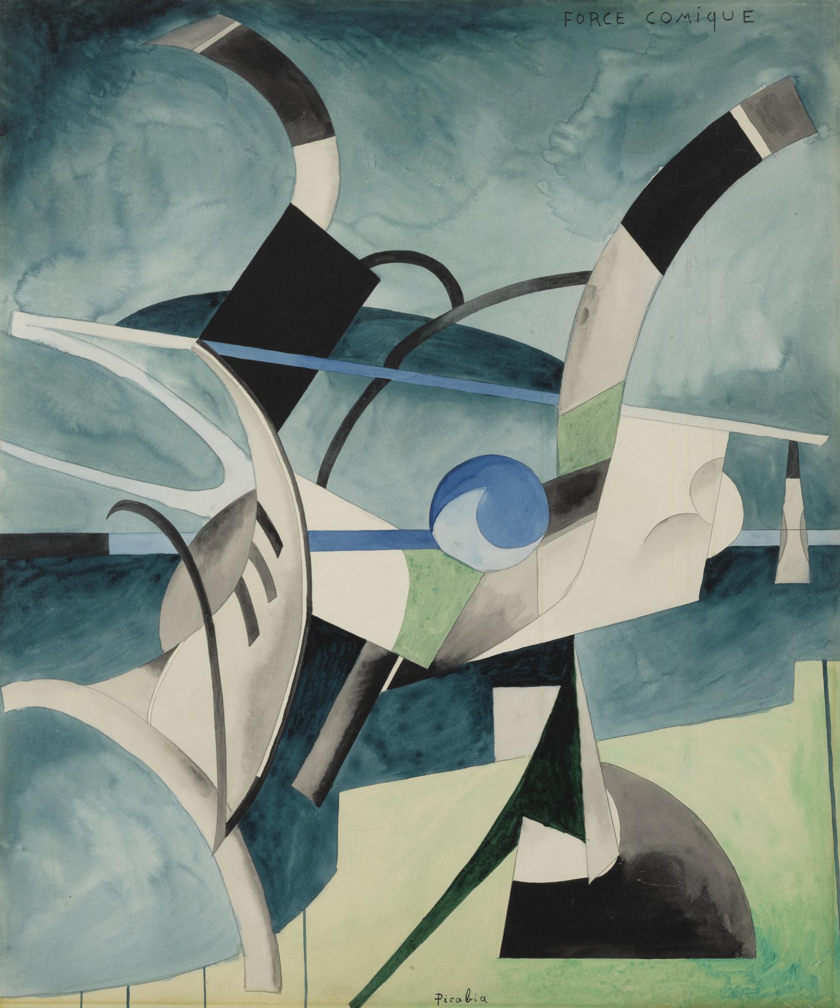 Francis Picabia-Force Comique-1914