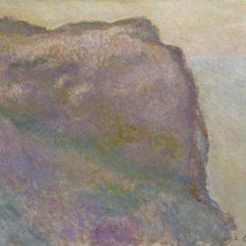 Claude Monet-Sur La Falaise, Au Petit Ailly-1896