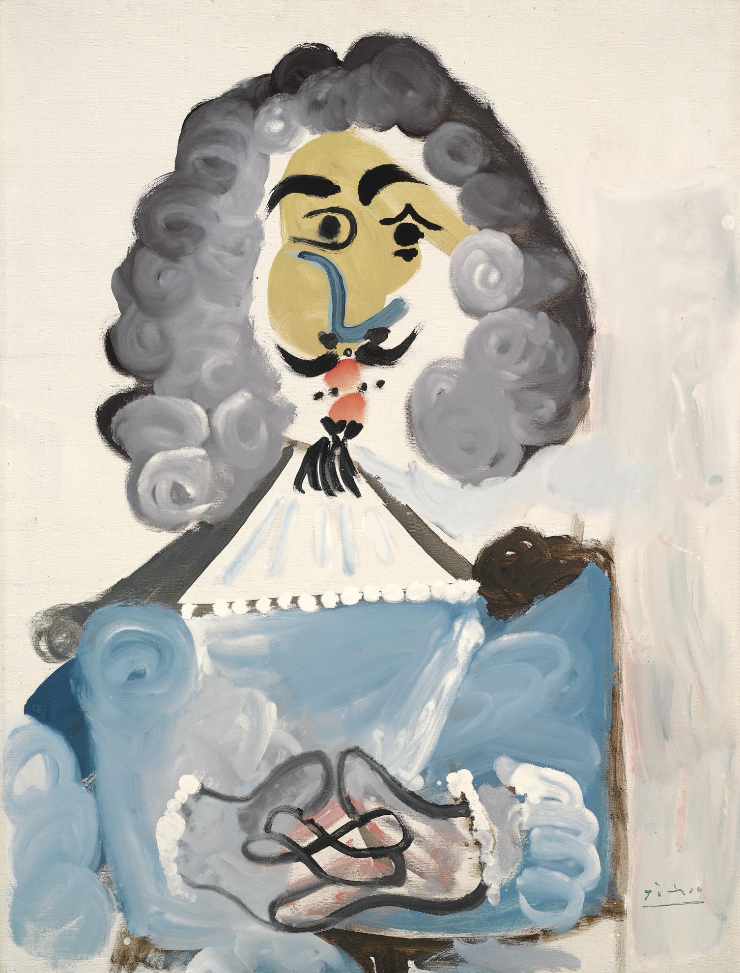 Pablo Picasso-Mousquetaire-1967