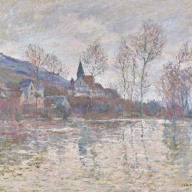 Claude Monet-Inondation A Giverny-1886