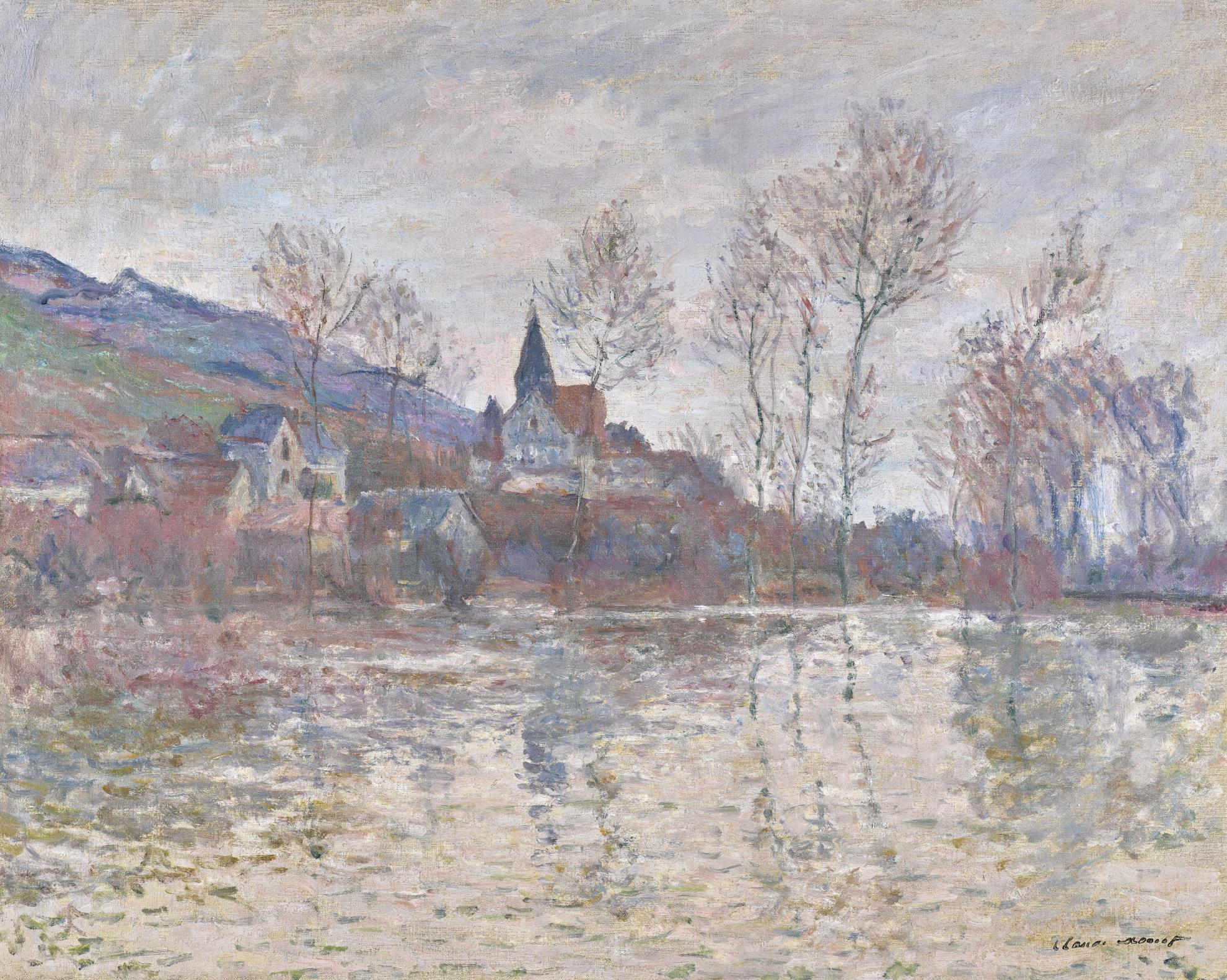Claude Monet-Inondation A Giverny-1886