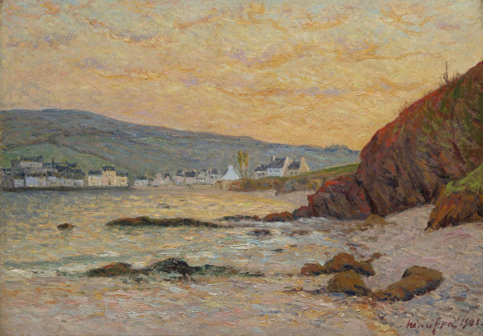Maxime Maufra-Le Village, Morgat-1901