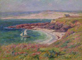 Henry Moret-Baie De Trouville, Cotentin-1910