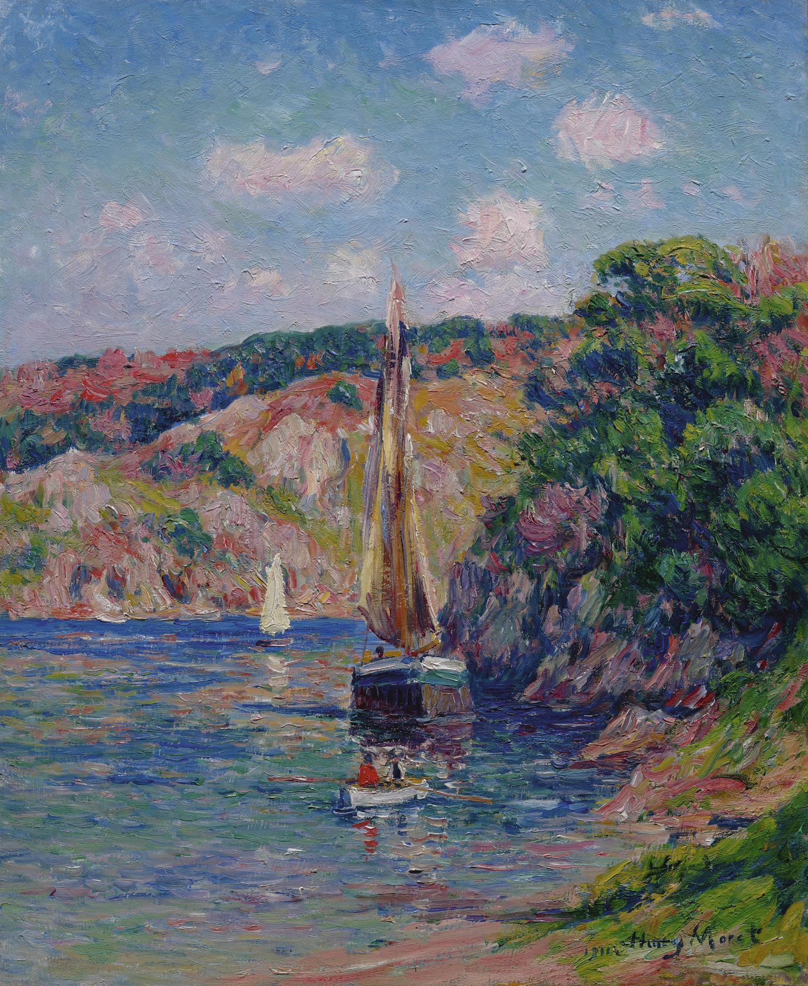 Henry Moret-La Riviere Du Pouldu-1911