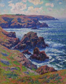 Henry Moret-La Terre De Cleden, Point Du Raz, Finistere-1911