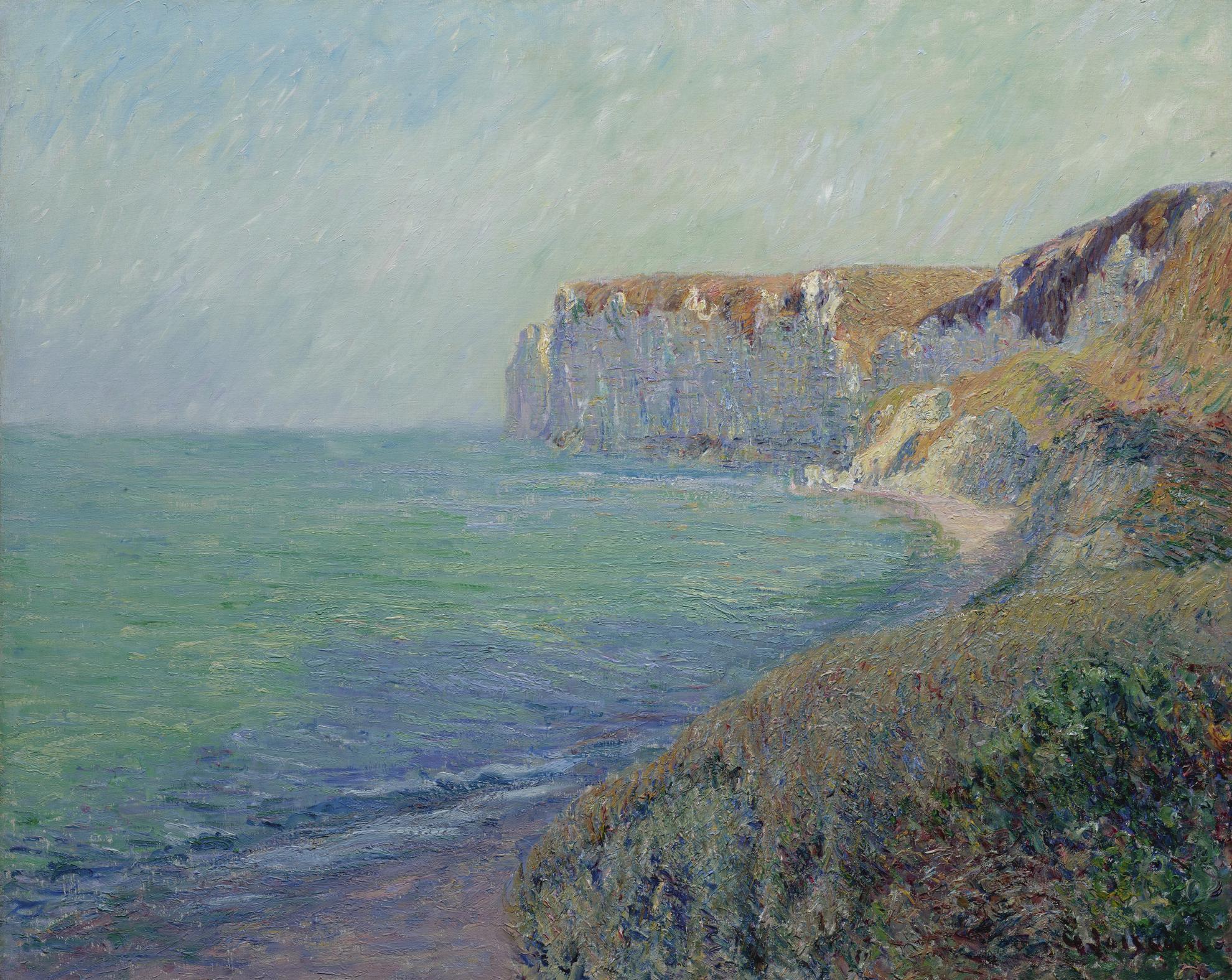 Gustave Loiseau-Falaises De Saint-Jouin-1907