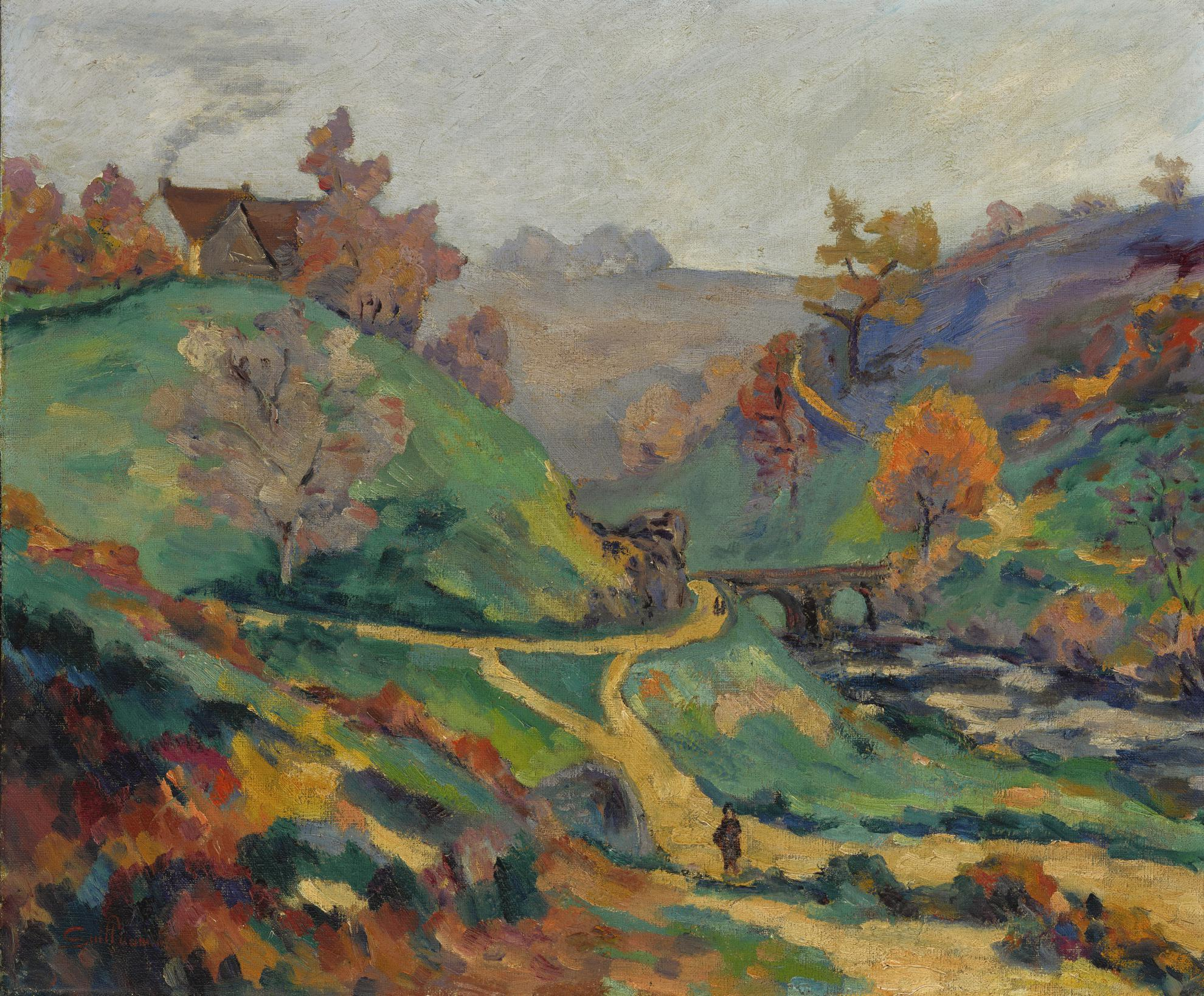 Jean-Baptiste Armand Guillaumin-La Sedelle Au Pont Charraud, Creuse-1916