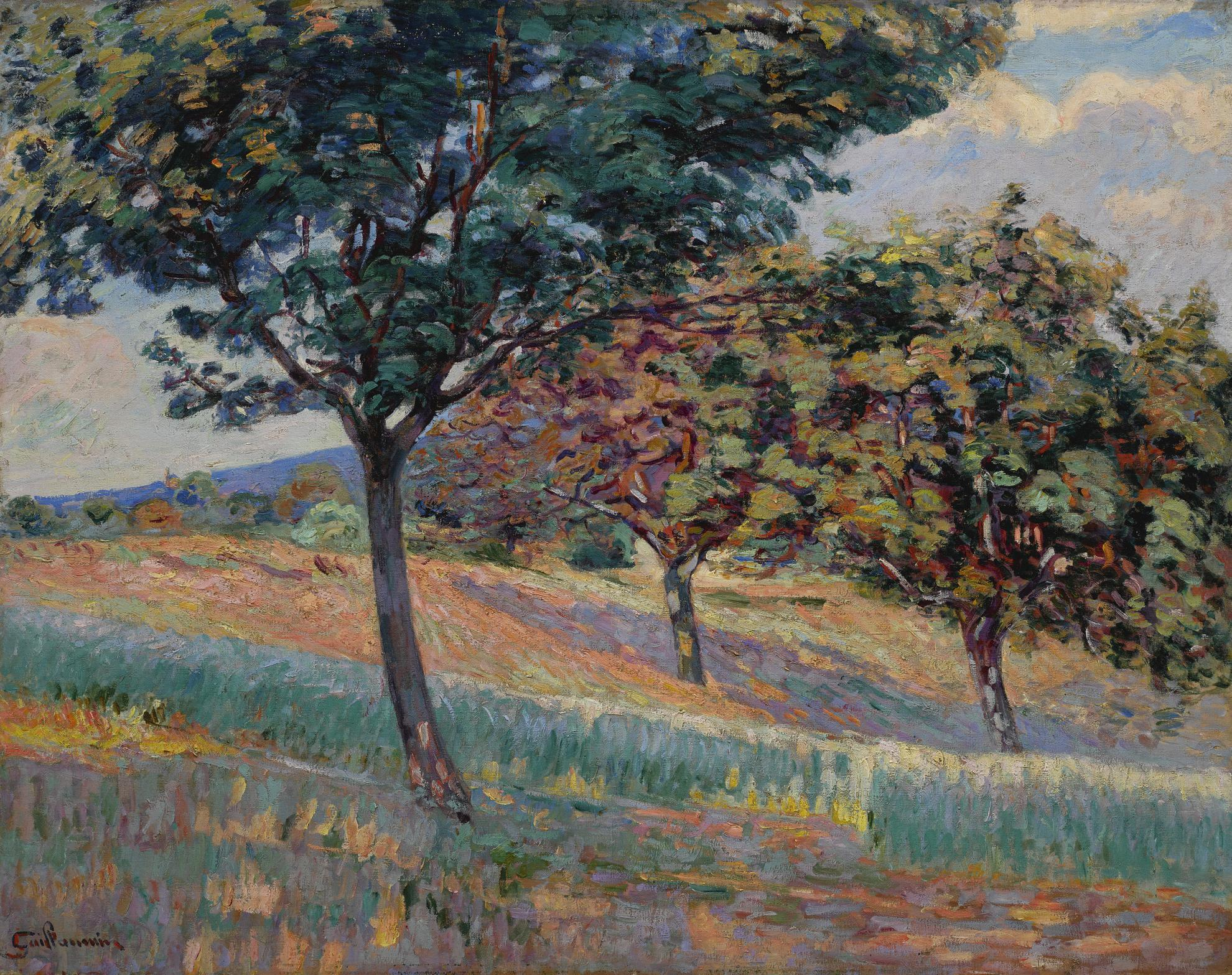 Jean-Baptiste Armand Guillaumin-Verger A La Lisiere Dun Bois A Saint-Cheron-1893