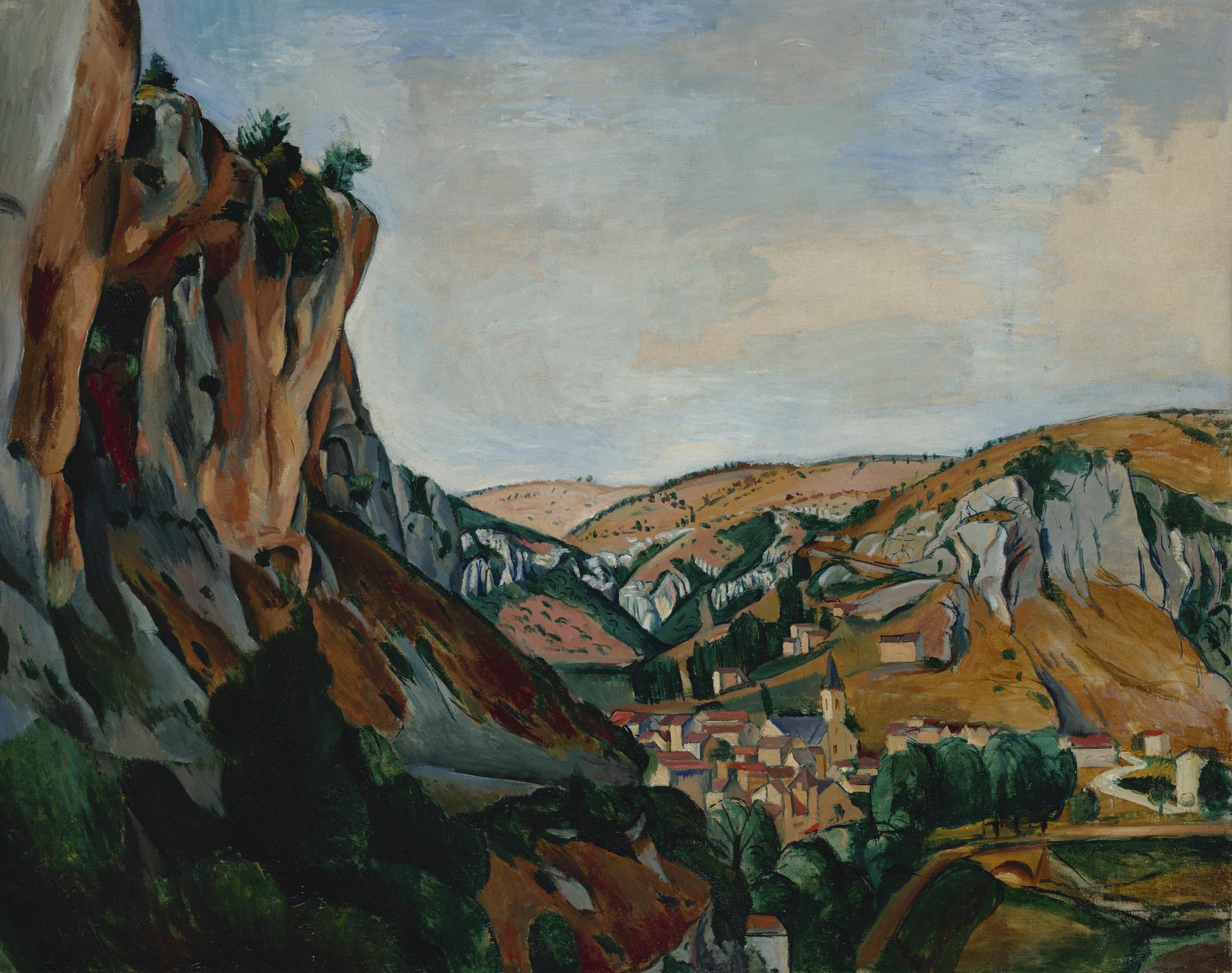 Andre Derain-La Vallee Du Lot-1912