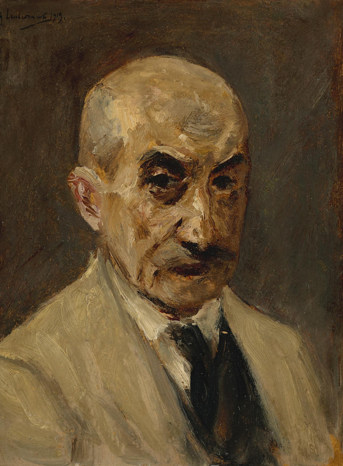 Max Liebermann-Selbstportrat (Self Portrait)-1919