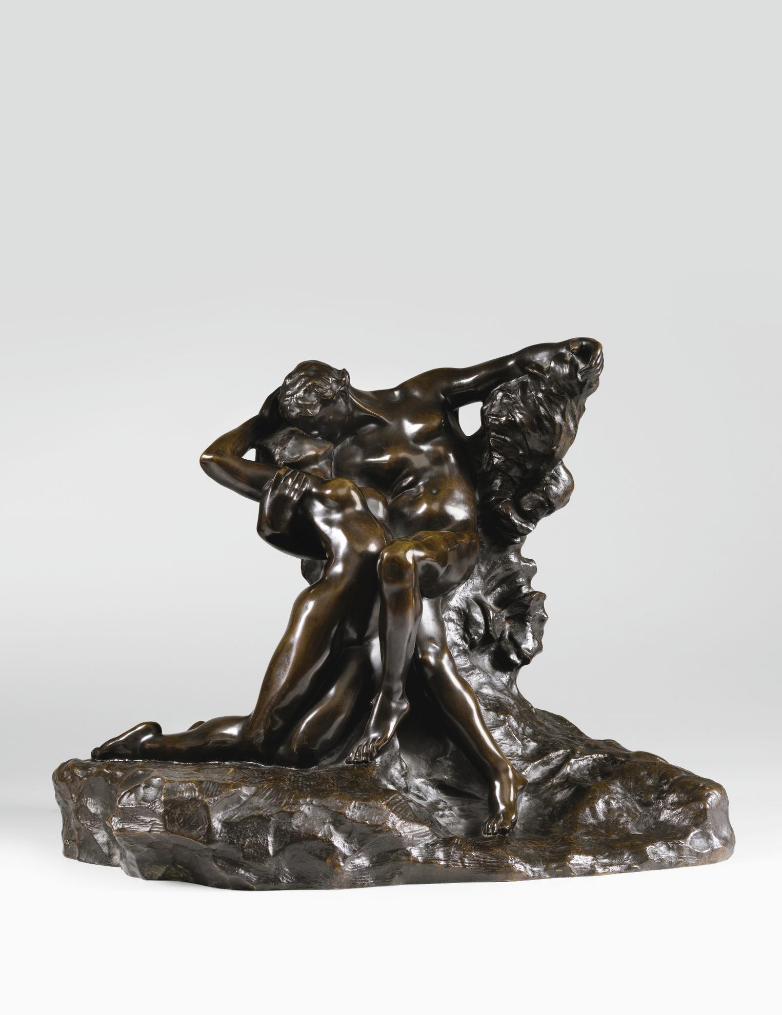 Auguste Rodin-Eternel Printemps, Second Etat, 3Eme Reduction-1904