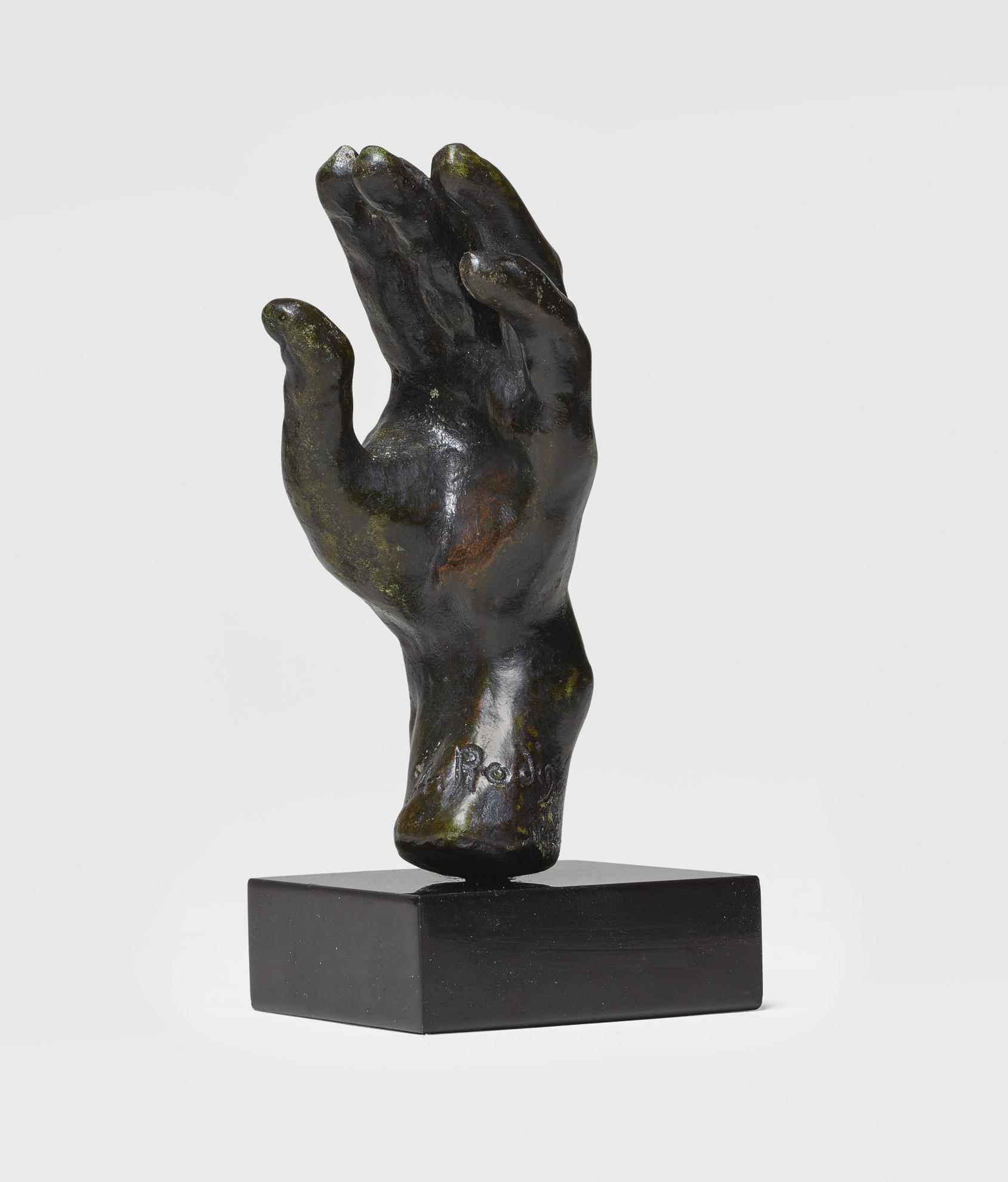Auguste Rodin-Main Gauche No. 34, Petit Modele-1901