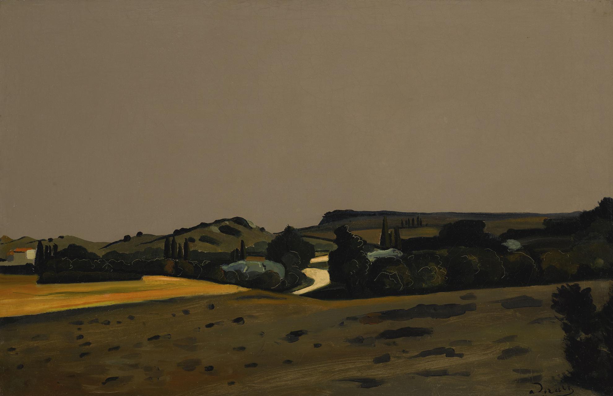 Andre Derain-Paysage De Provence-1928