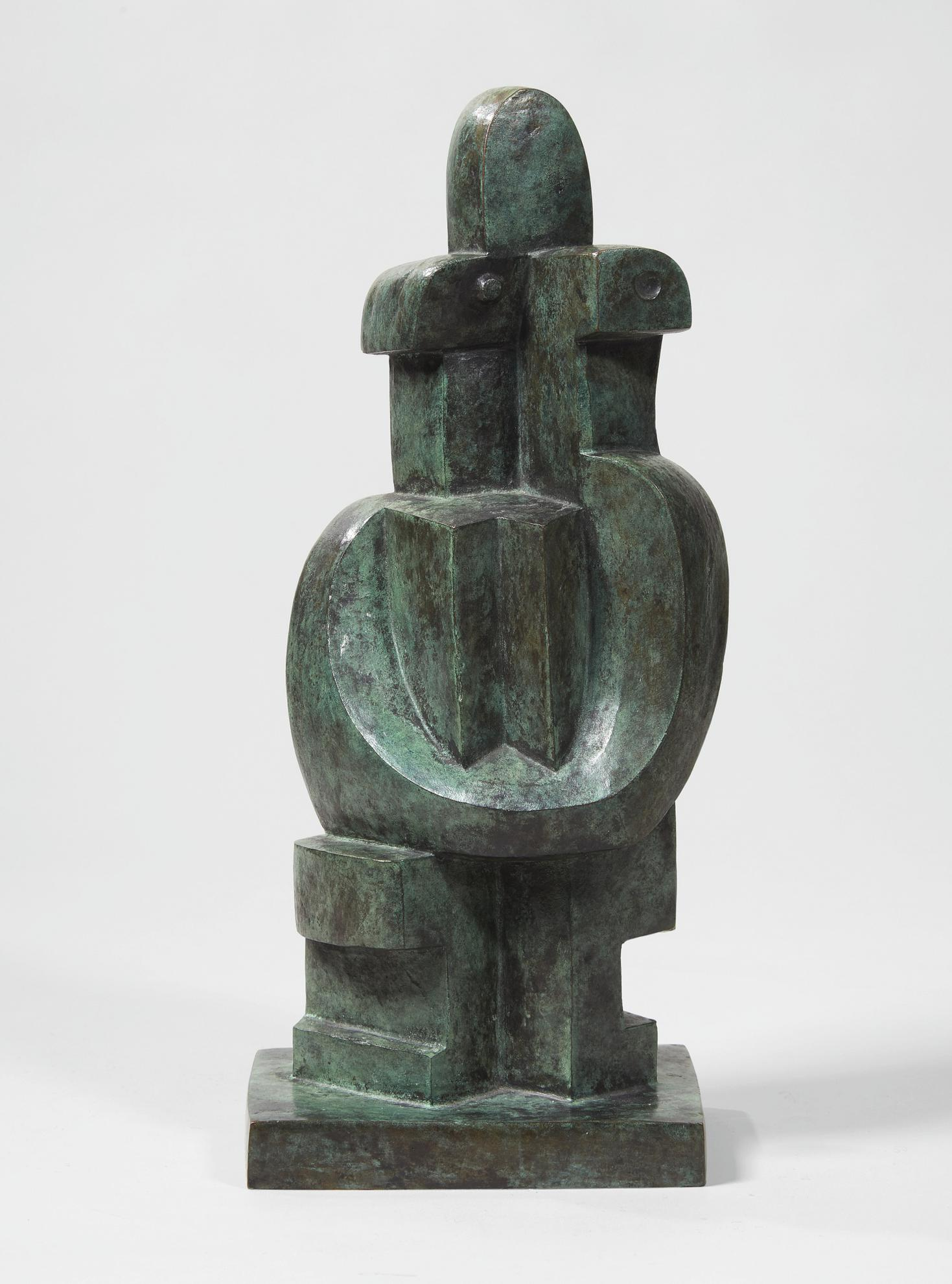 Jacques Lipchitz-Pierrot Assis-1962