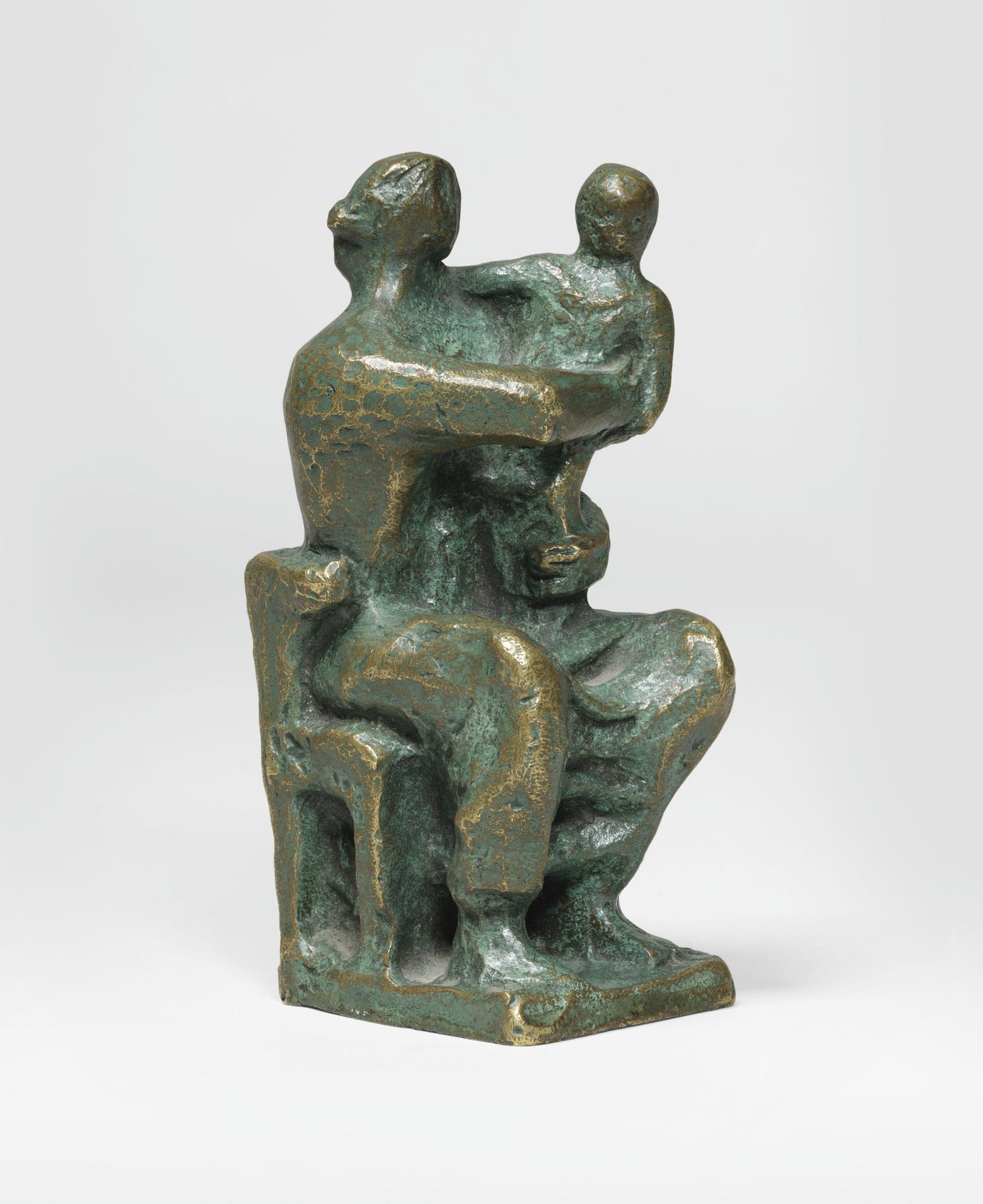 Henry Moore-Madonna And Child-1948