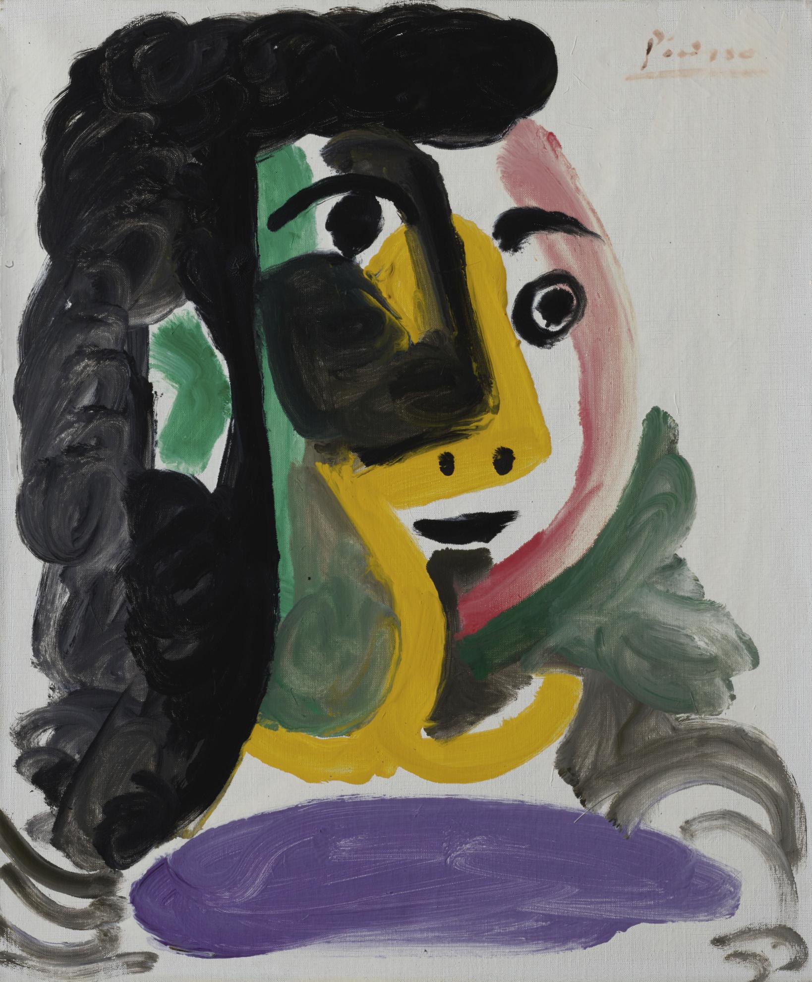 Pablo Picasso-Tete De Femme-1964
