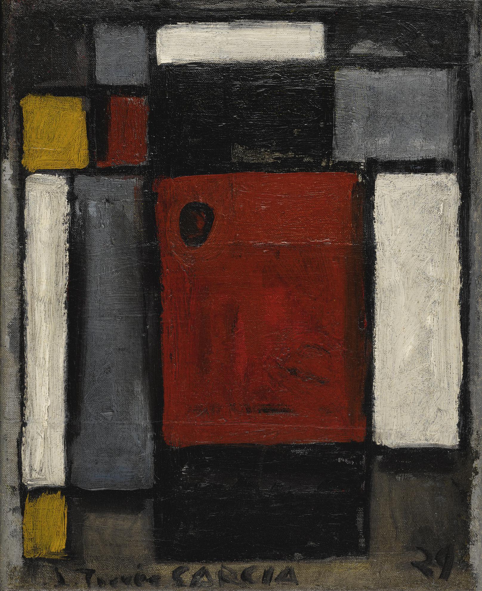 Joaquin Torres-Garcia-Abstraction-1929