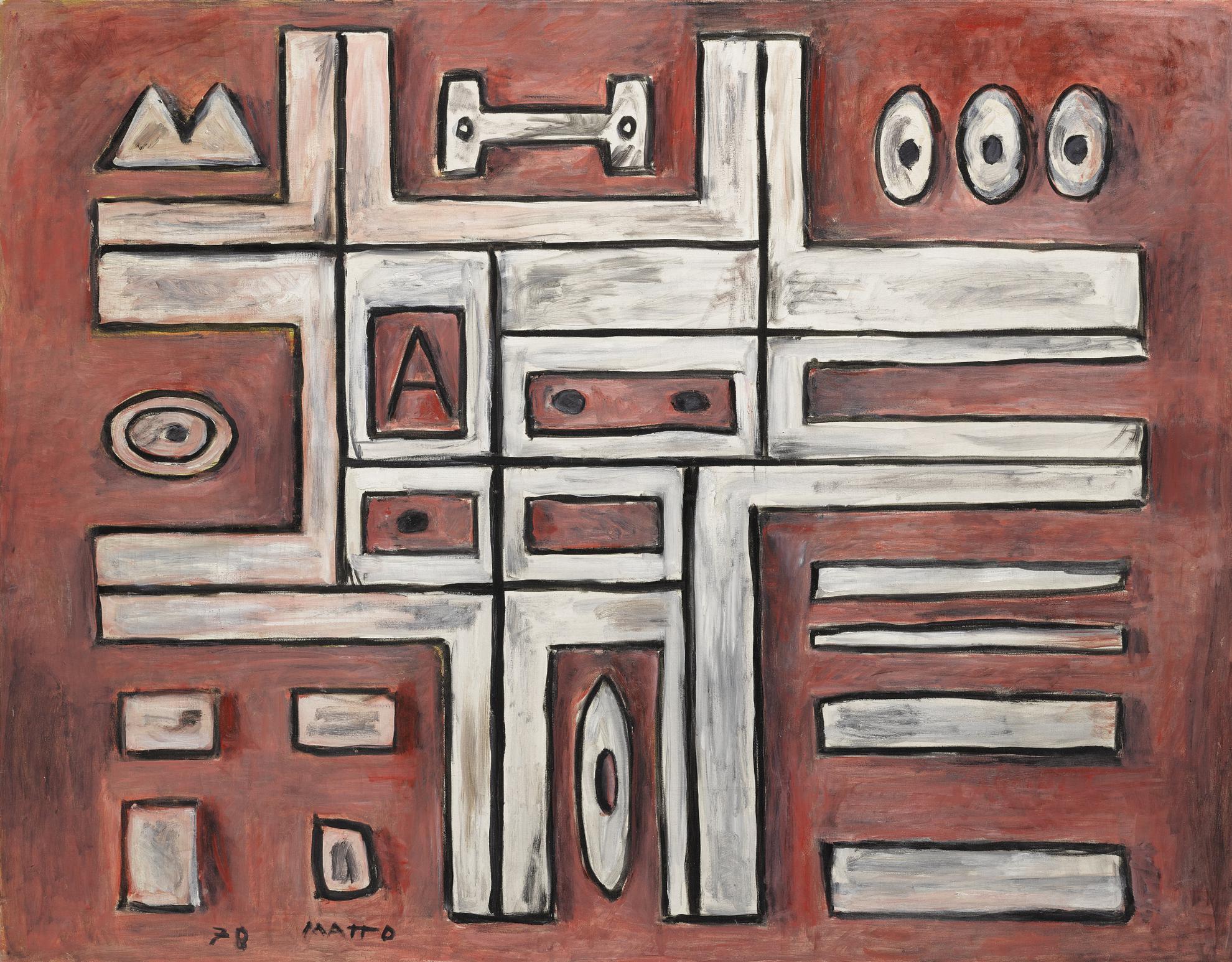 Francisco Matto - Constructivo, Geometrico-1978