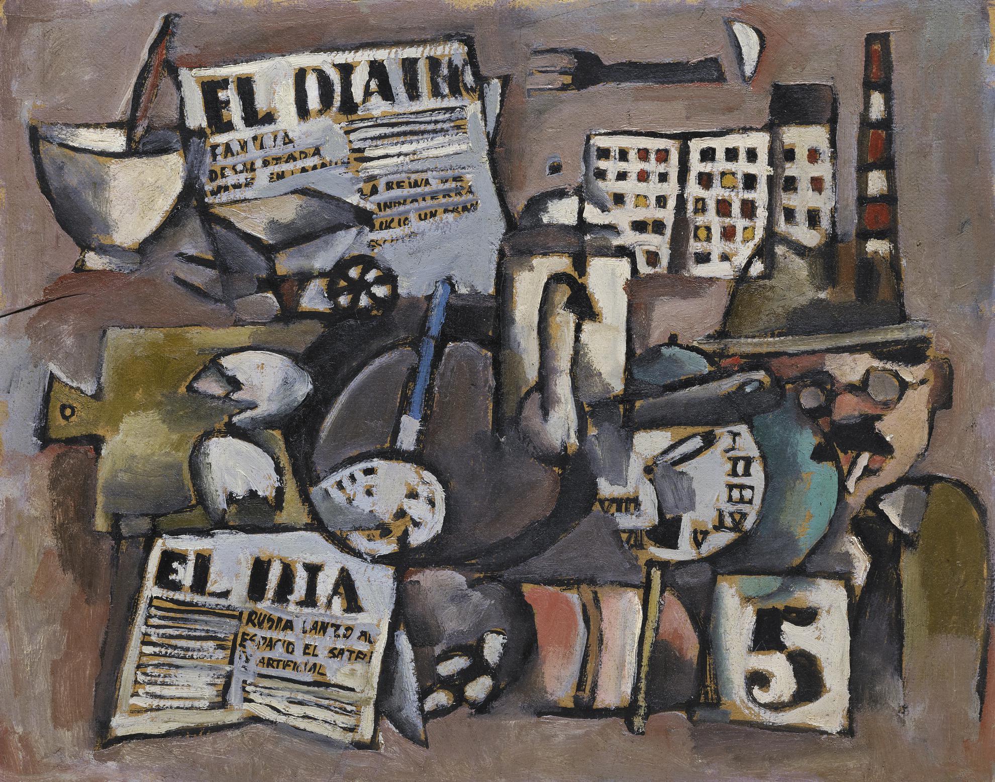 Jose Gurvich - Poema Cotidiano (El Dia Rusia Lanzo El Satelite)-1957
