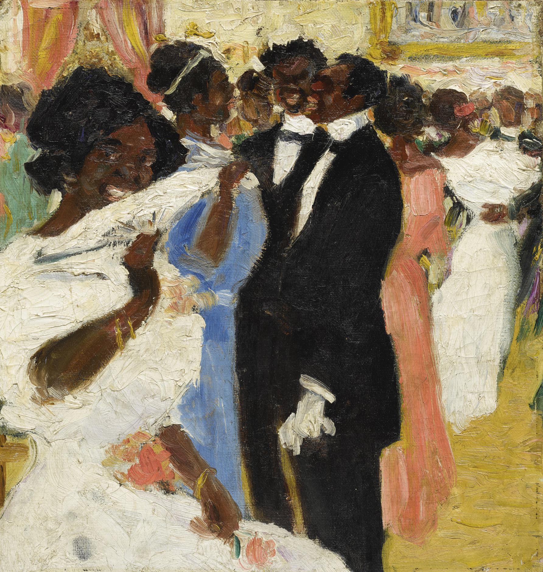 Rafael Barradas - La Fete-1910