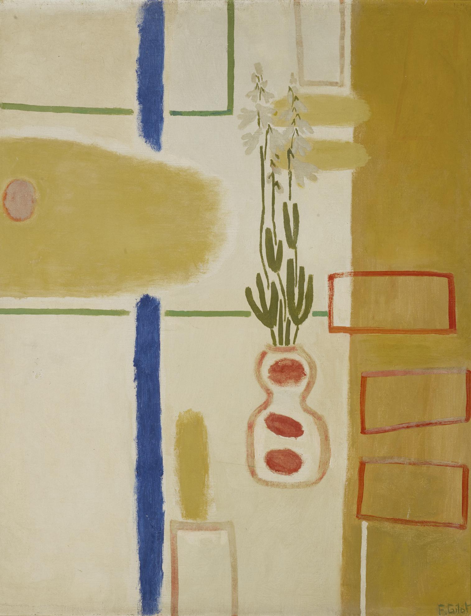 Francoise Gilot-Nature Morte-1958