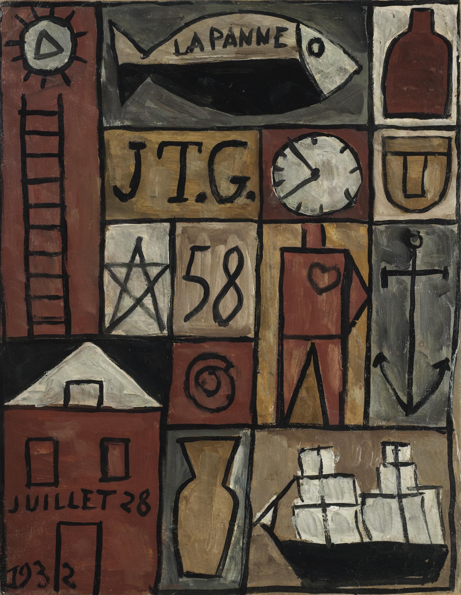 Joaquin Torres-Garcia-Constructif La Panne-1932