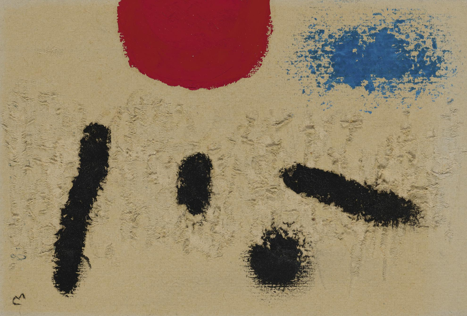 Joan Miro-Composition-1960