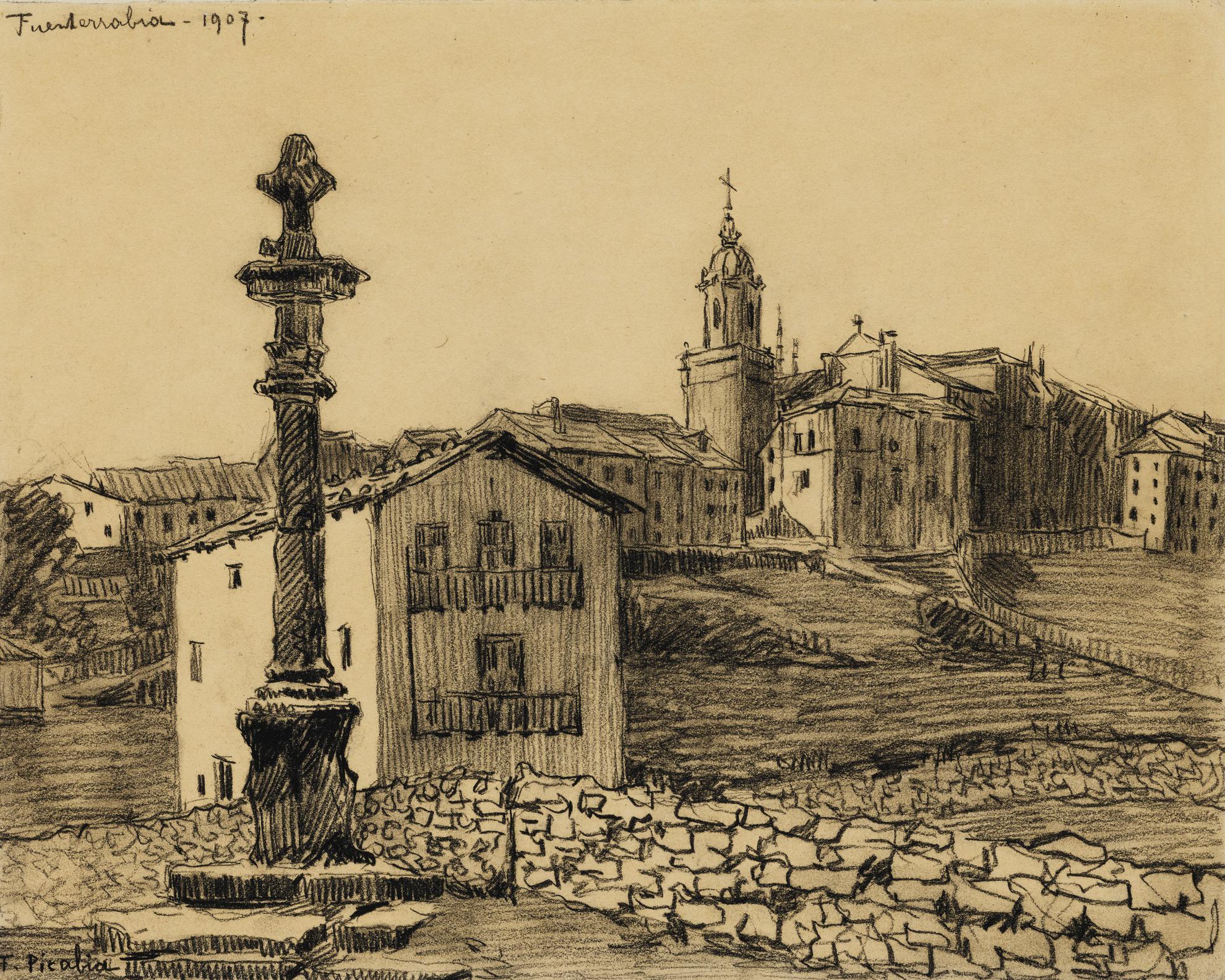 Francis Picabia-Fuenterrabia-1907