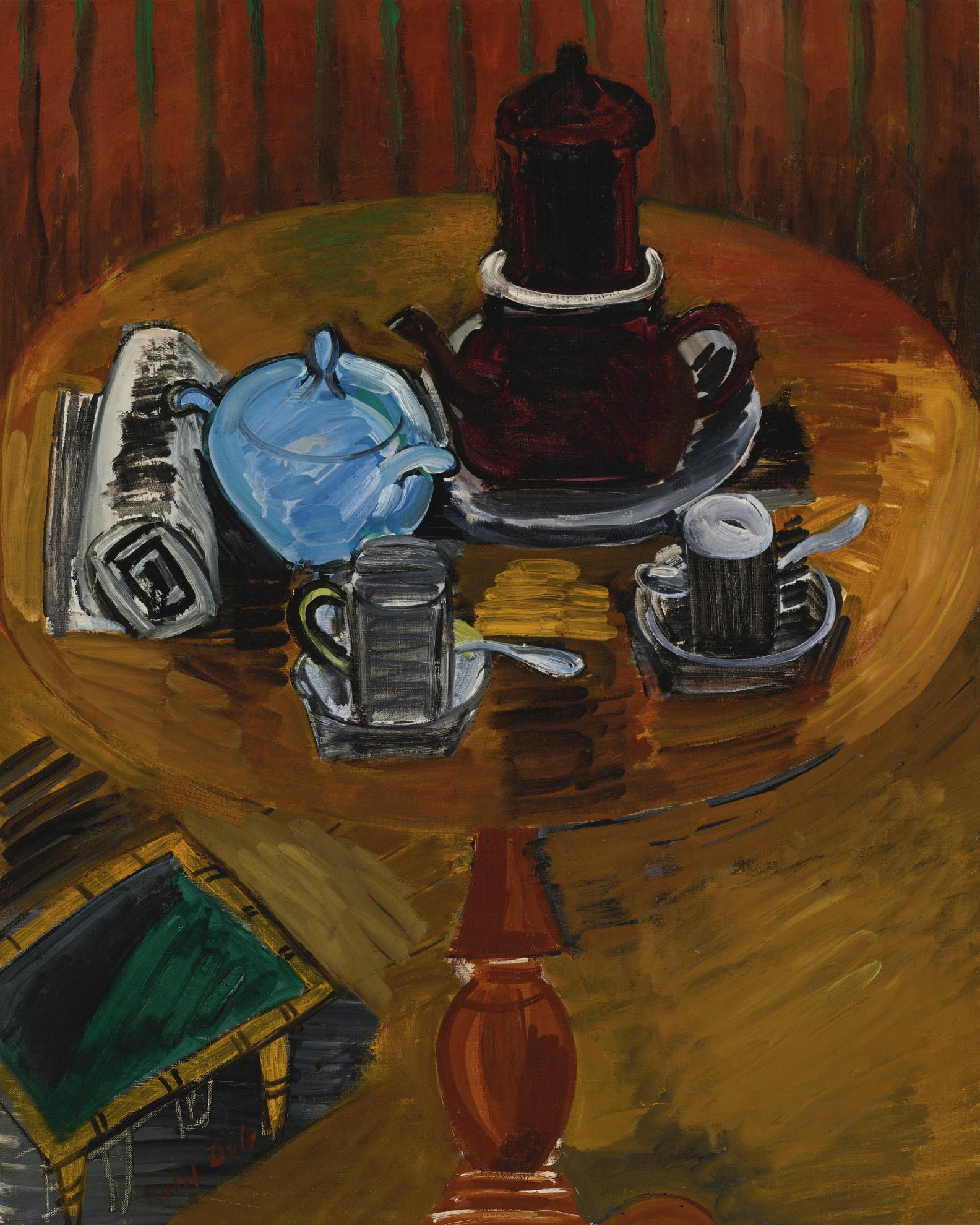Raoul Dufy-Nature Morte Au Sucrier Bleu-1919
