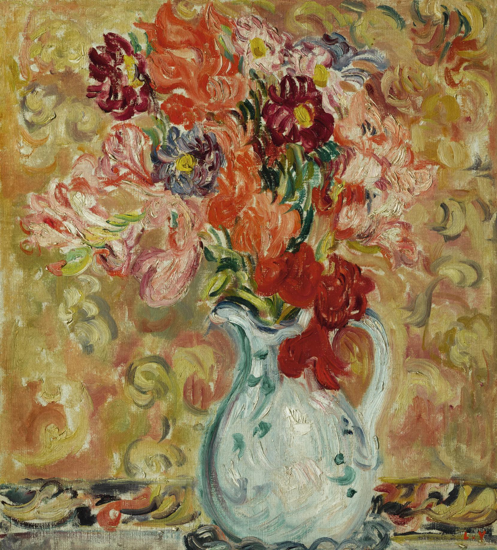 Louis Valtat-Fleurs A La Cruche Blanche-1908