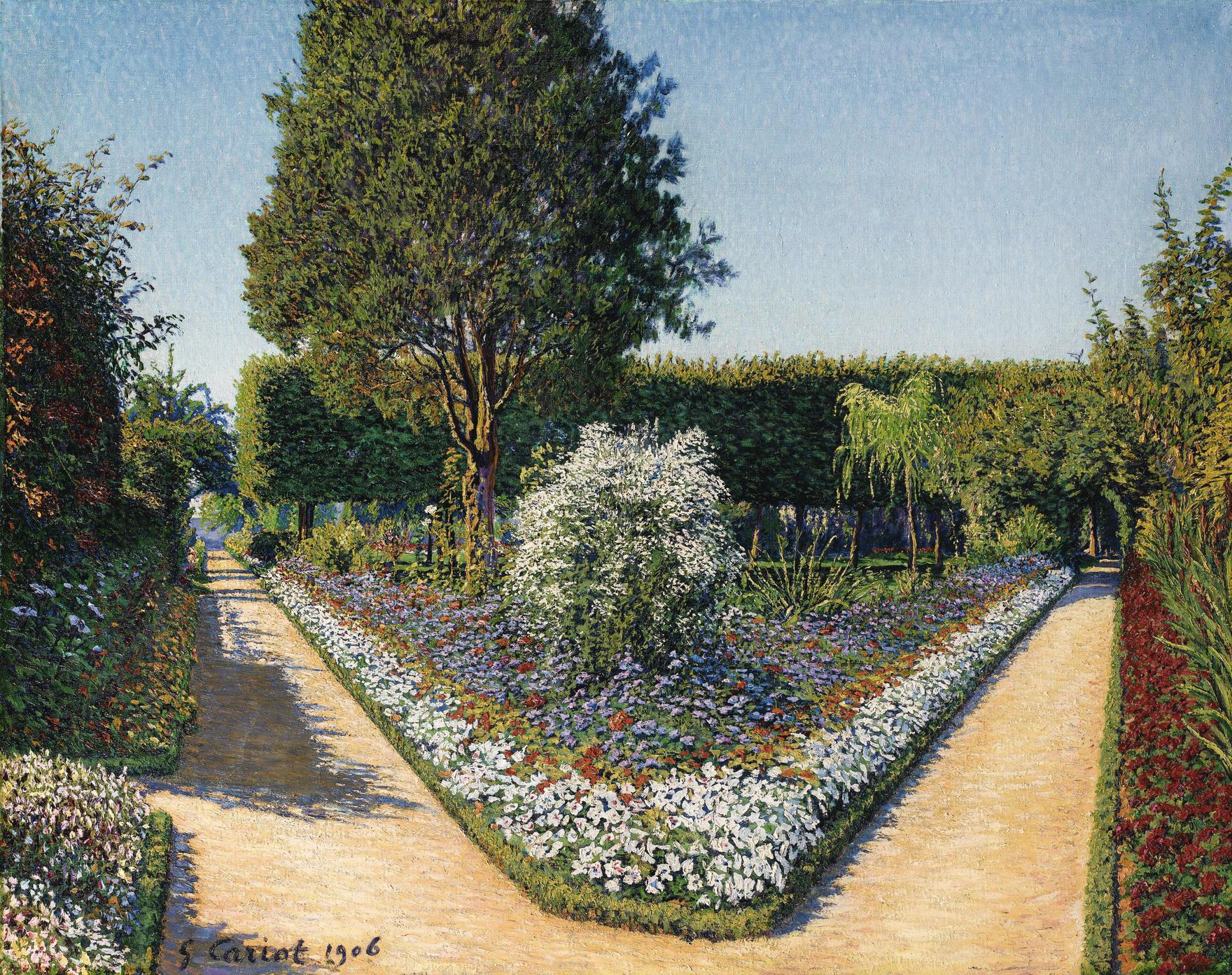 Gustave Cariot-Le Jardin De Perrigny, Yonne-1906