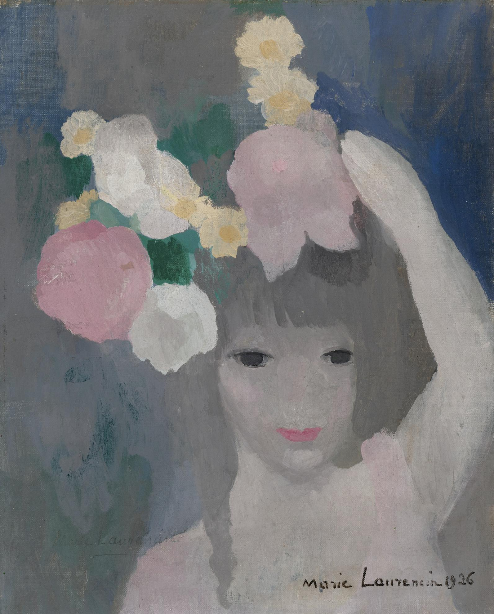 Marie Laurencin-Fillette Coiffee-1926