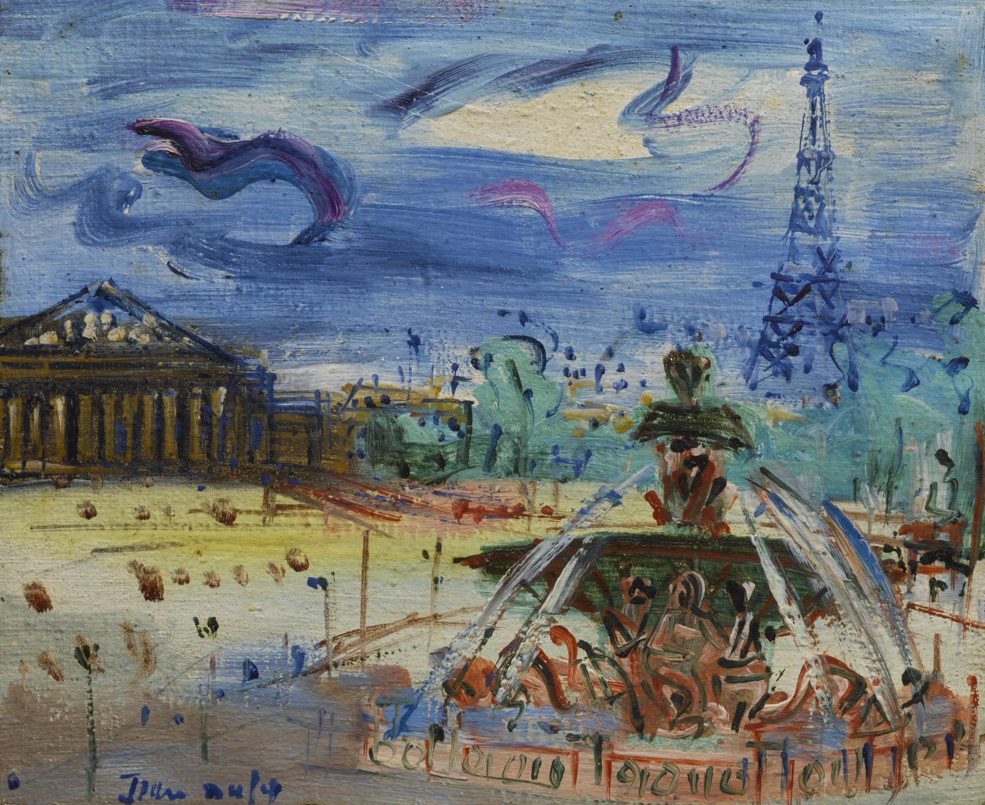 Jean Dufy-Place De La Concorde-