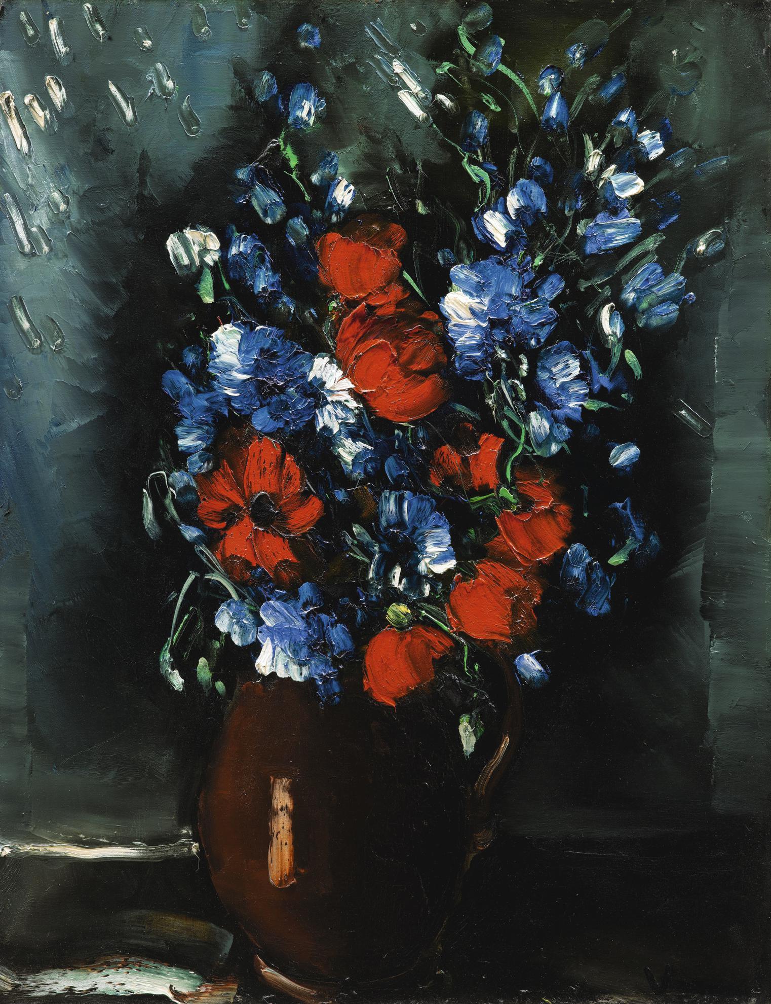Maurice de Vlaminck-Fleurs-1950