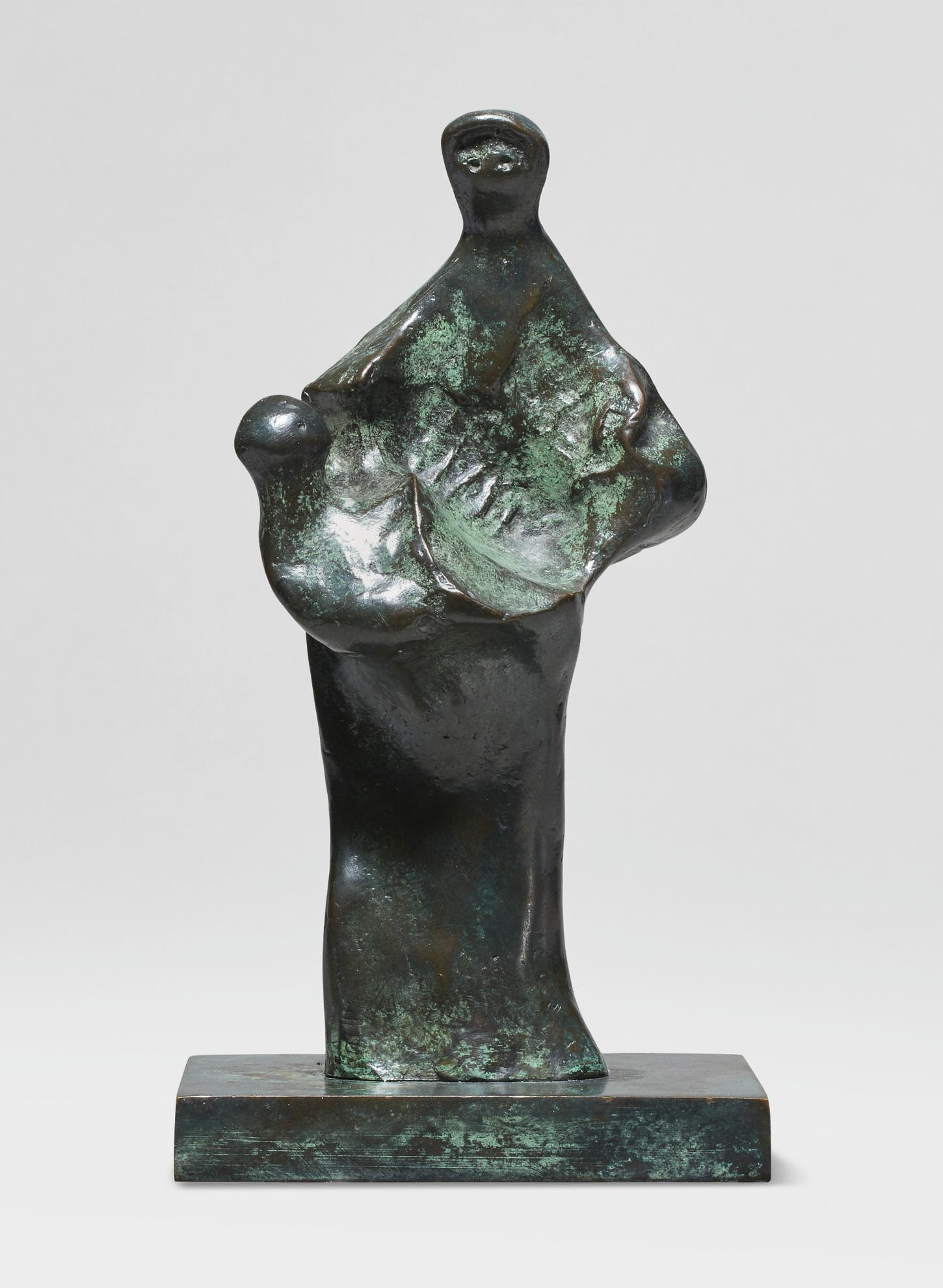 Henry Moore-Mother Holding Child-1981