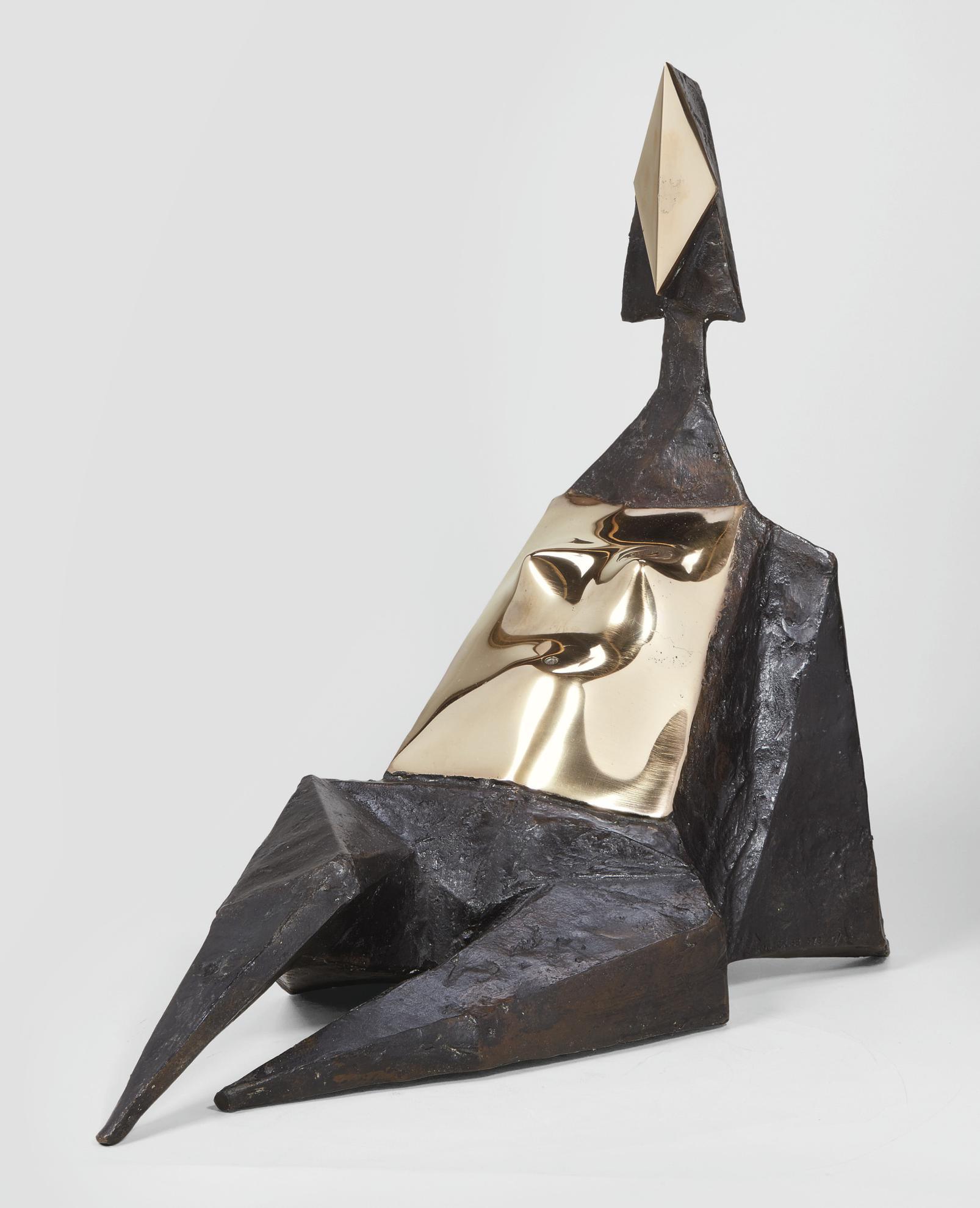 Lynn Chadwick-Sitting Elektra III-1969